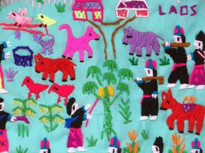 Folk Tales embroidery